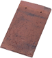 Patrimony Handcraft Plain Tile Aleonard Kent Red