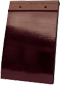 Plain Tile Smooth Wine Red Glazed