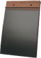 Plain Tile Smooth Slate Matt Blue Glazed